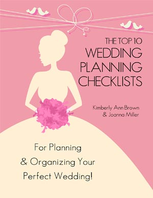 The Top 10 Wedding Planning Checklists Book